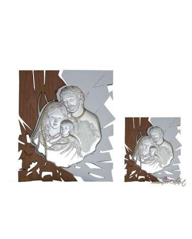 Bomboniera quadro medio Sacra Famiglia