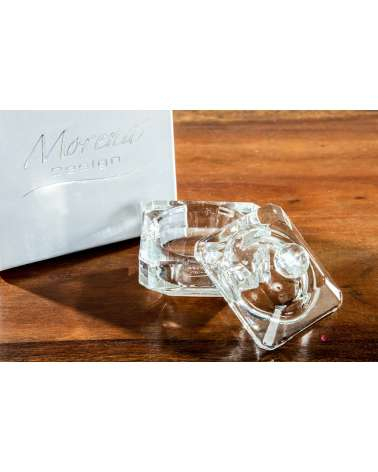 Bomboniere Matrimonio, Prima Comunione Morena: Scatolina in cristallo quadrata