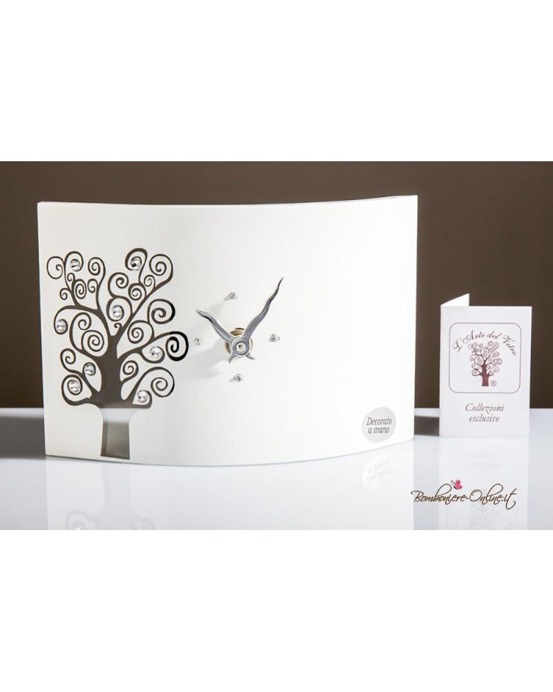 Orologio in vetro decoro albero della vita linea Eva