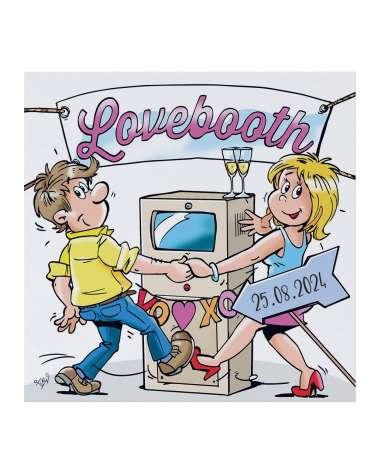 Partecipazione di nozze - Lovebooth