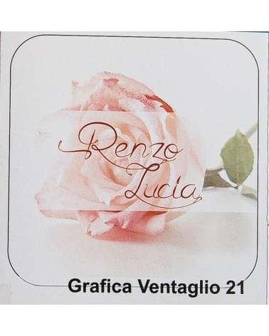 Rosa Rosa partecipazioni per matrimonio