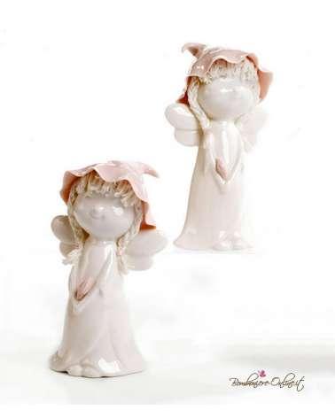 Bomboniere Battesimo, Comunione o Cresima. Fatine spiritose in ceramica grandi