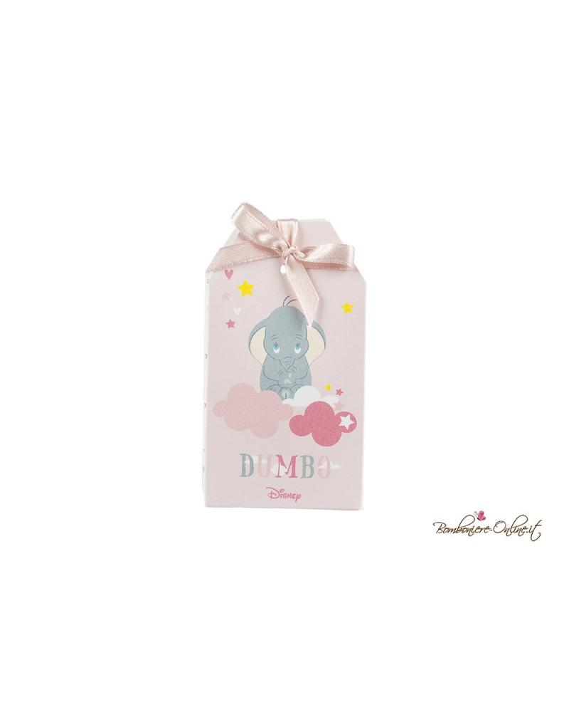 Scatolina a bustina porta confetti Dumbo rosa