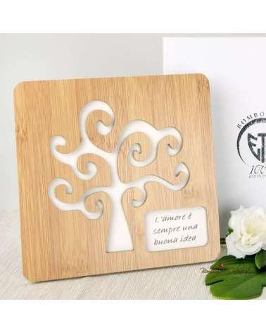 Bomboniere Matrimonio: Sottopentola in legno Albero della vita