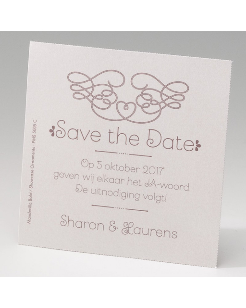 Save the data matrimonio
