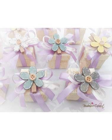 """Box iuta """"Flower"""""""