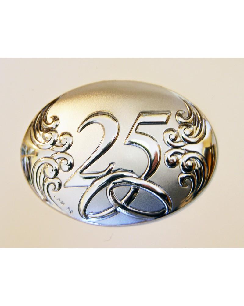 Decorazione ovale 25? Anniversario