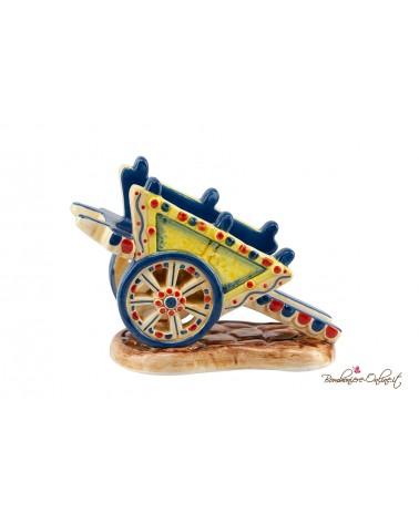 Carretto siciliano in ceramica