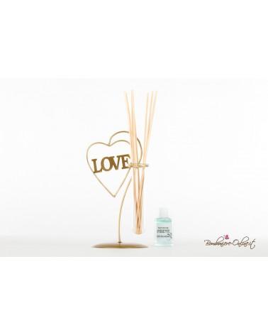 Bomboniera Profumatore Porta fiori Love