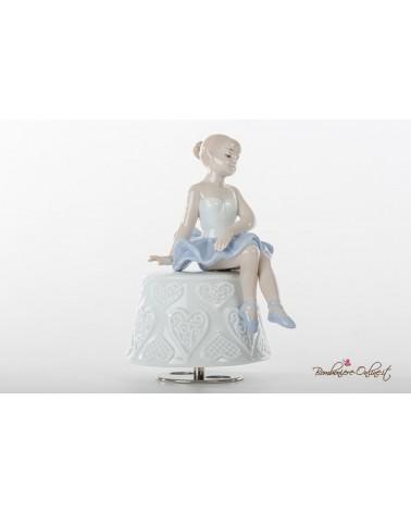 Bomboniera carillon ballerina