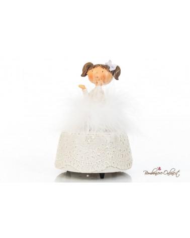 Bomboniera carillon ballerina marabu