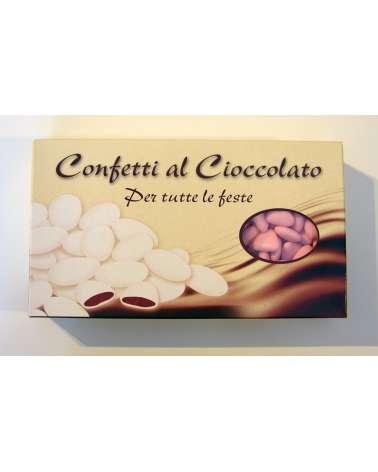 Confetti PRISCO cuore cioccolato rosa