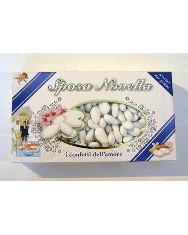 Confetti PRISCO Sposa Novella mandorla bianchi