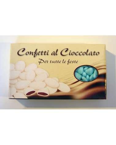 Confetti PRISCO cuore cioccolato azzurro