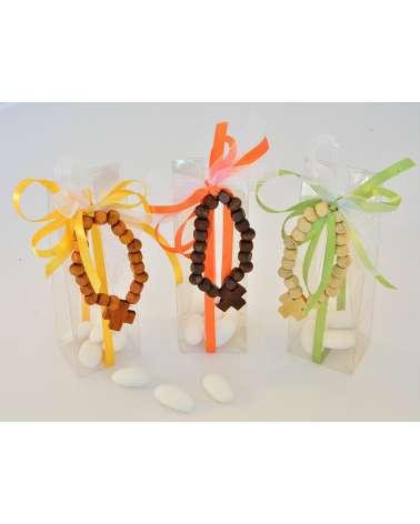 Box braccialetto rosario