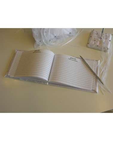 Libro degli ospiti Rombi e strass