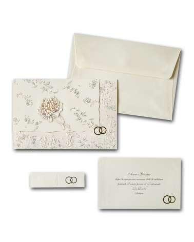 Partecipazione Bouquet classic