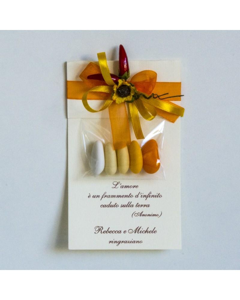 Segnaposto A personalizzato Sunflower