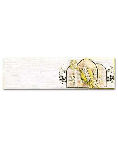 Biglietti bomboniera cresima tiara