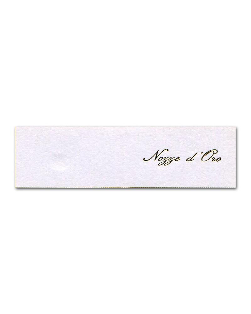 Anniversario Di Matrimonio Biglietti Da Stampare.Biglietti Bomboniera Nozze D Oro