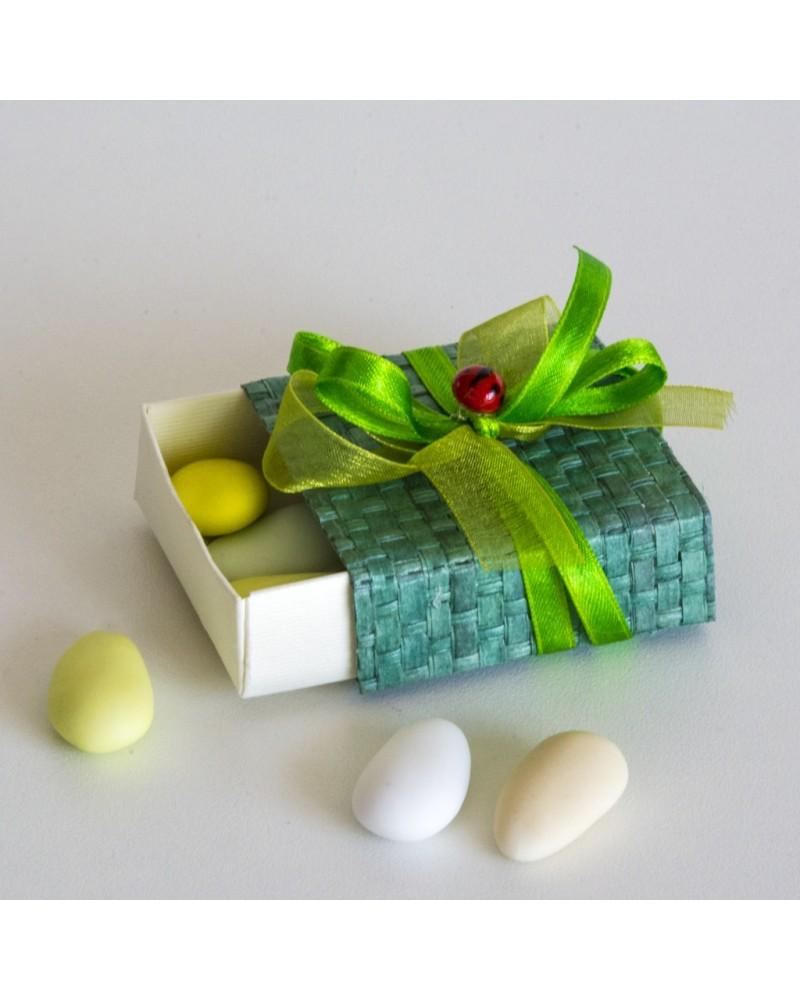 "Box scatola cerini ""Giardino d'estate"""