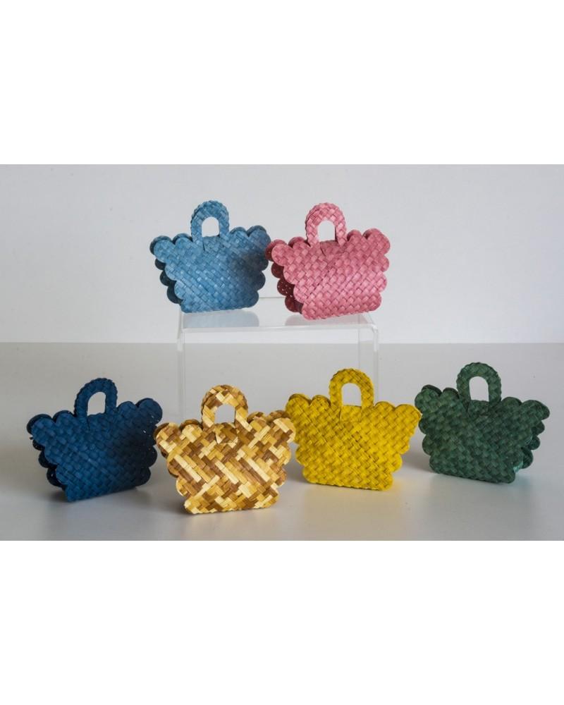 Portaconfetti in paglia di Firenze Bag 1
