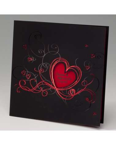 """Partecipazione: """"Heart red and black"""""""