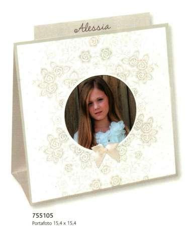 Portafoto Comunione o Cresima Bouquet