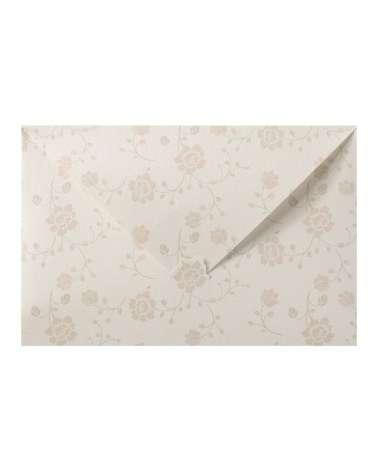 Partecipazione nozze pochette in carta perlata