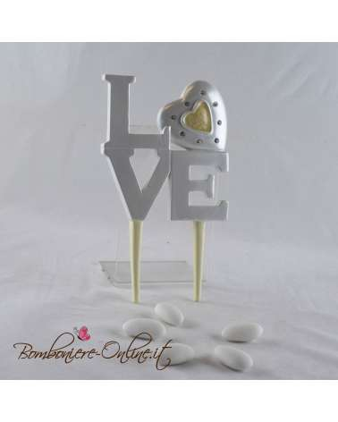 Top cake Love (Topper)