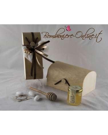 Bauletto personalizzabile con miele e spargimiele