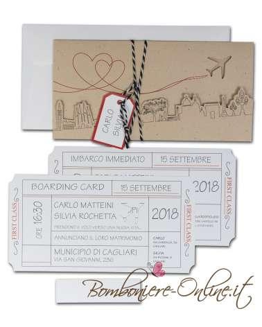 Partecipazione Boarding card