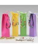 Box assortito braccialetto multicolor con caramelle