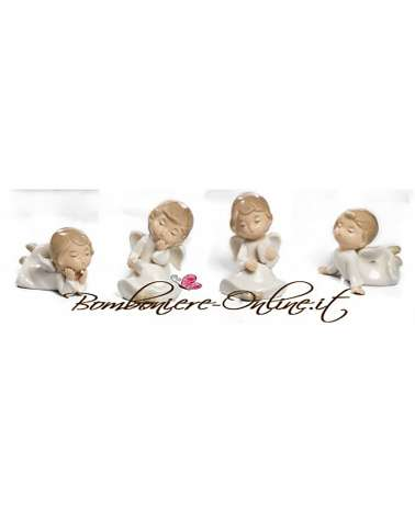 Bomboniere Battesimo, Comunione o Cresima Little angels seduti e sdraiati
