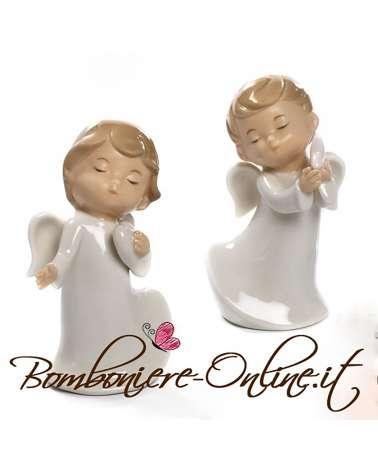 Bomboniere Battesimo, Comunione o Cresima Little Angels cuore e stella in piedi