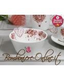 "Bomboniere Matrimonio: Ciotola in ceramica ""In Love"""