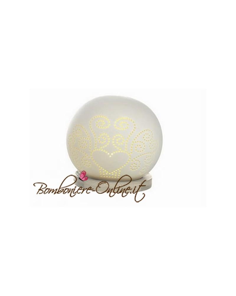 """Lampada sfera ceramica """"Diffusion"""" piccola"""