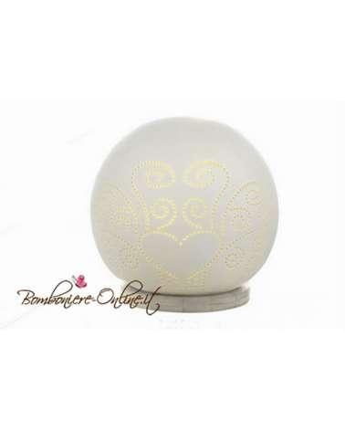 """Lampada sfera ceramica """"Diffusion"""" grande"""