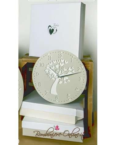 """Orologio serie in legno colorato serie """"Giove"""""""
