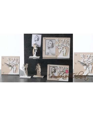 "Portafoto in legno bicolore grande ""Wedding tree"""
