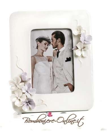 """Portafoto  con decorazione floreale collezione """"Divine"""""""