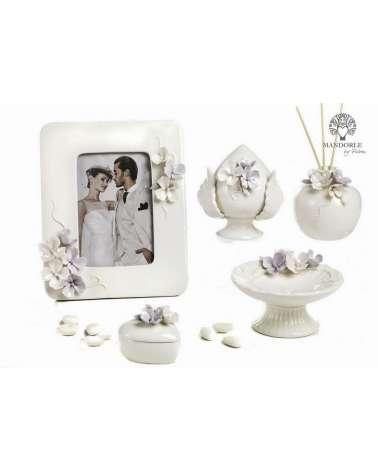 """Alzata con decorazione  floreali collezione """"Divine"""""""