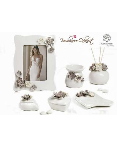 """Portafoto  con decorazioni floreali collezione """"Charme"""""""