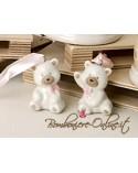 """Orsetto ceramica """"Bear"""" rosa"""