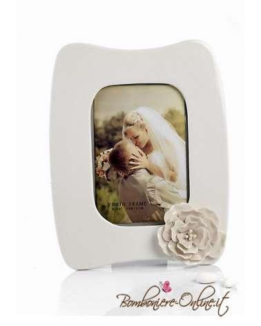 Portafoto  con decorazione  floreale