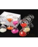 Clessidre in vetro colori assortiti