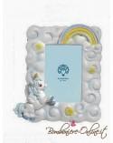 """Portafoto unicorno azzurro collezione """" Baby Unicorn"""""""