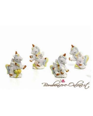 """Bomboniera unicorno  collezione """" Golden Unicorn"""""""