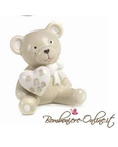 """Bomboniera orso collezione """"Bernie love music"""""""
