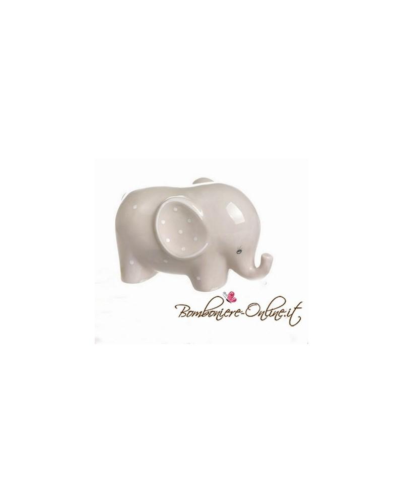 """Elefantino in porcellana grande """"Lillo e Lilla"""""""